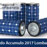 Bando Accumulo Regione Lombardia 2017: Incentivi Batterie per Fotovoltaico