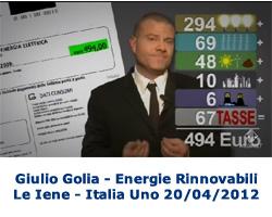 Le Iene 20/04/2012 Aumento Bolletta Energia Elettrica 2012 (Giulio Golia)