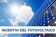 Incentivi del Fotovoltaico