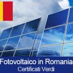 Incentivi Fotovoltaico in Romania (Certificati Verdi)