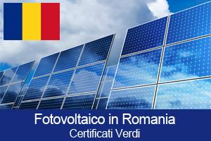 Certificati Verdi Incentivi Fotovoltaico Romania