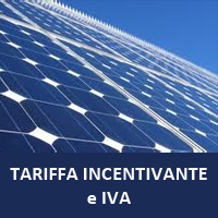 IVA Tariffa Incentivante Conto Energia