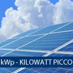 Potenza Nominale o di Picco Impianto Fotovoltaico (kWp)