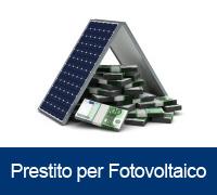 Finanziamento Prestito fotovoltaico
