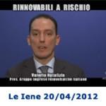 Riforma Incentivi Rinnovabili 2012 Quinto conto Energia