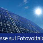 Tasse sul Fotovoltaico