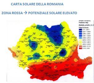 Migliori zone fotovoltaico Romania